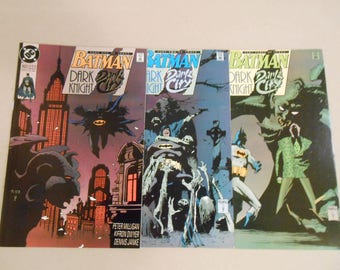Batman;Dark City; 542;543;544; 1st Barbatos; 1st Hyper-Adapter; Batman R.I.P.; Batman vs Zombies; Riddler; Mignola covers; Very High Grade!