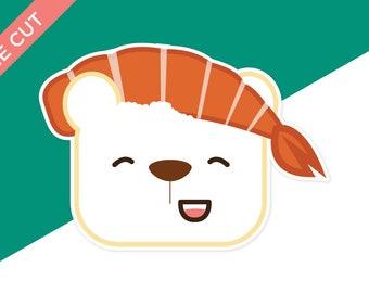 Nigiri Bear Planner Die Cut