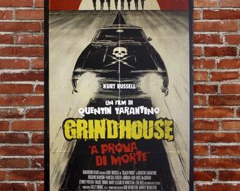 Original Movie Poster - Grind House 100x140 CM - Quentin Tarantino