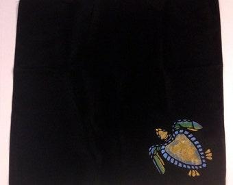 Hawksbill Dinner Napkins Black