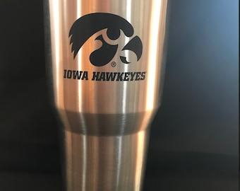 Iowa Hawkeye 30 oz. Tumbler