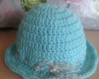 Crochet Floppy Hat, Sun Hats,  Yellow Floppy Sun Hat, Toddler Hats, Girls Spring Hats,