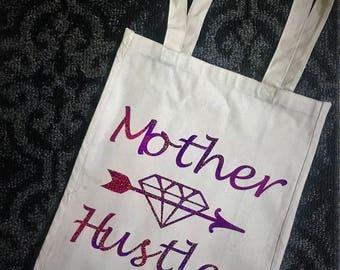 Mother Hustler Canvas Tote