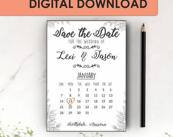 Marble Rose Gold Save The Date Template Save The Date - Save the date templates word