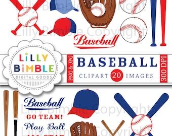 Baseball clipart mitt, baseballs, bats, hats, clip art images, birthday party INSTANT DOWNLOAD