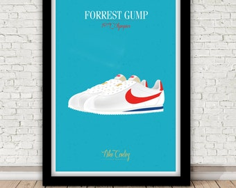 Forrest Gump poster - Nike Cortez - Robert Zemeckis - 1994