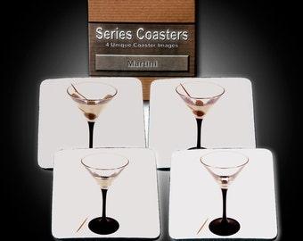 Martini Coaster Series