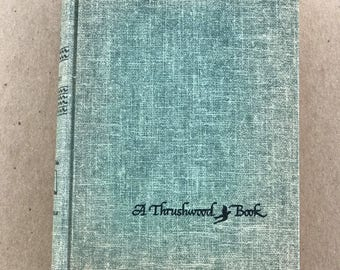Anne of Green Gables, by L M MONTGOMERY, 1935,children's classic,Thrushwood book, young adult classic,decorative books, display books,