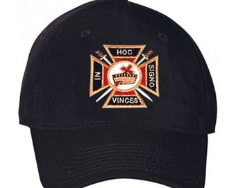 Knights Templar Hat One Size Fits Most