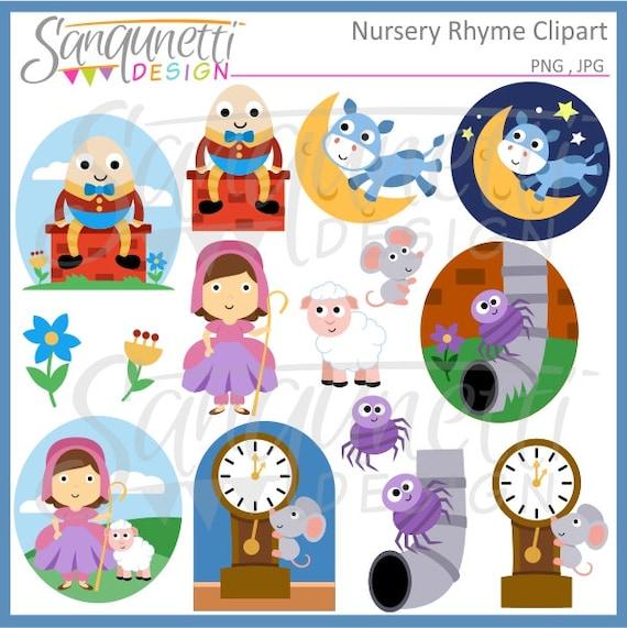nursery rhyme clipart storybook clipart humpty dumpty rh etsy com jack and jill nursery rhyme clipart nursery rhymes clipart images