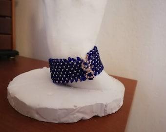 Cobalt band Bracelet