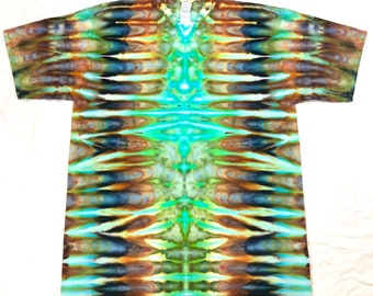 XL Tie Dye Chroma Veins T-shirt