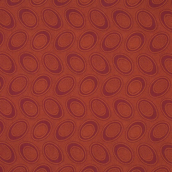 ABORIGINAL DOT in Pumpkin GP71 by Kaffe Fassett Collectives Sold in 1/2 yard increments