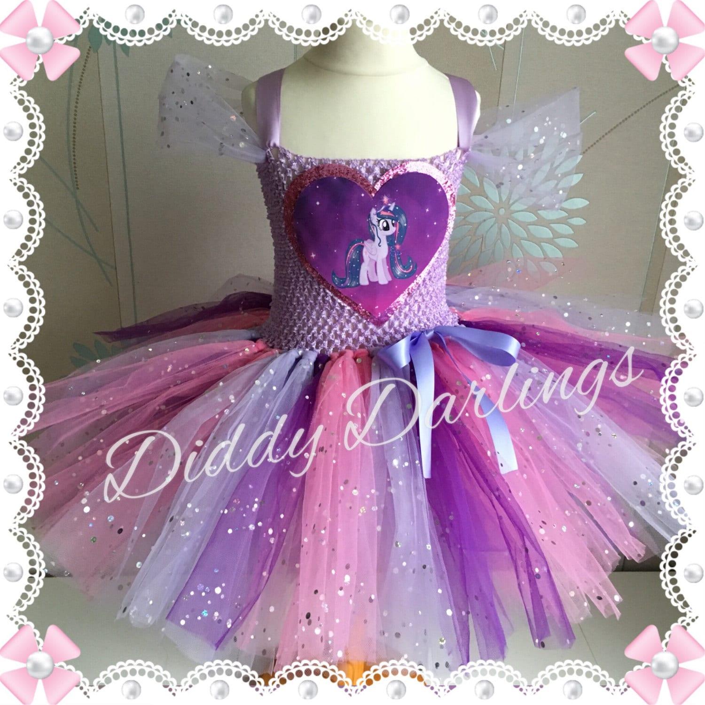 Brillante Twilight Sparkle vestido tutú. Mi pequeño Pony Tutu