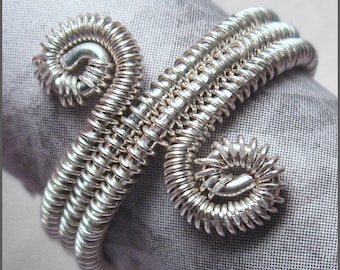 Woven band Ring -Wire WeavingTutorial