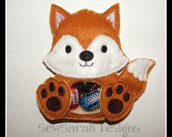 ITH Fox Treat Holder - 5 x 7 Instant digital download
