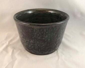 """Large """"Hammered"""" Bowl - Stoneware"""