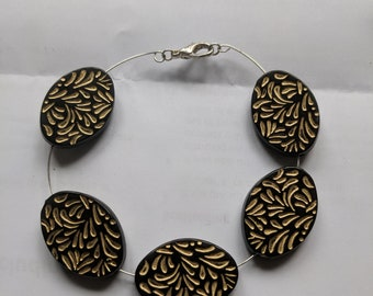 wired flowers Bracelet
