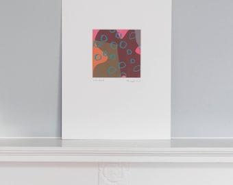 Unique silk screen print