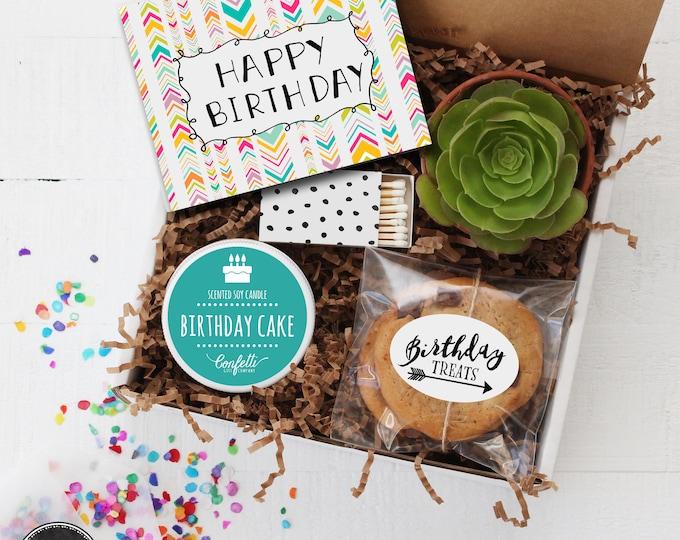 Happy Birthday Gift Box - Send a Birthday Gift | Birthday in a Box | Friend Gift | Coworker Gift | Birthday Card