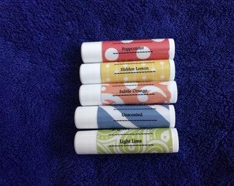 5 Organic Lip Balms