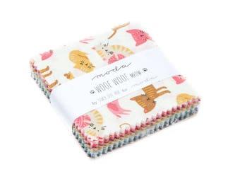 Woof Woof Meow by Stacy Iset Hsu (20560MC) - Mini Charm Pack