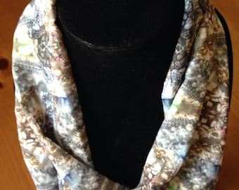 Jeweled Treasure Silky Infinity or Long Scarf