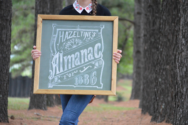 Chalkboard Chalkboard Sign Chalkboard Art Framed