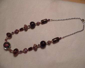 """21"""" Dark Purple Necklace"""