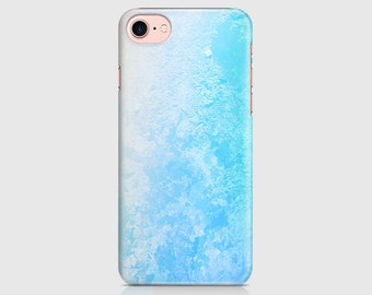 Turquoise Haze Print, Tie Print, Pattern Design, Protective Phone Case, iPhone Cover, iPhone 7 iPhone 6 iPhone 5 Samsung Galaxy \ hc-pp024