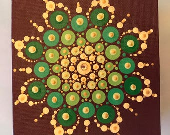 Mandala  Art - Original Painting - ID#884
