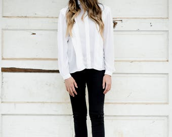 Campus Casual Sheer Blouse