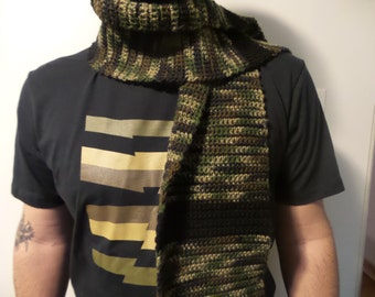 Camouflage Block Scarf