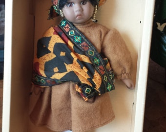Porcelain doll collectible Limited Edition KADESHA Signature Collection