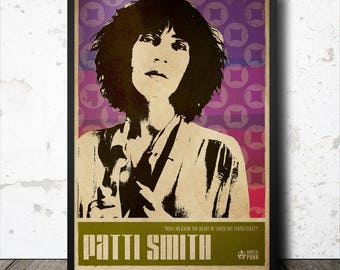 Patti Smith Punk Art Poster