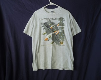 SALE 90s Air Force US Military T-Shirt