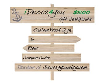 Gift Certificate Printable Holiday Gifts Card for Her, Gifts for Co-Workers, Easy Holiday Cards