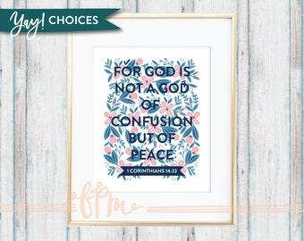 1 Corinthians 14:33 Print