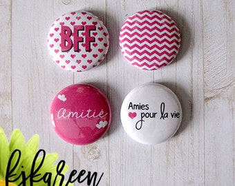 "Badge 1 ""- BFF"