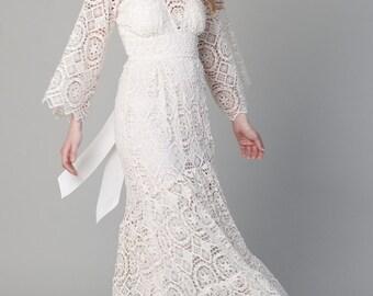 Bohemian Wedding Dress Arabella Gown