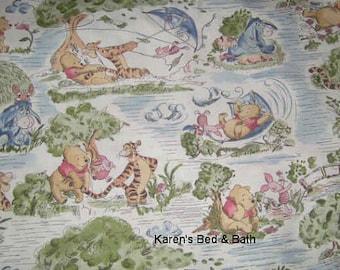 Winnie The Pooh Fabric Disney Eeyore Tigger Kite Toile Cotton Fabric t5/26