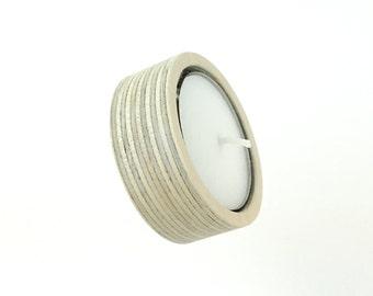 Australian Made Birch Plywood Tealight Candle Holder / Living room decor / Bedroom decor / Bathroom Accessories / Entryway Decor Kitchen Art