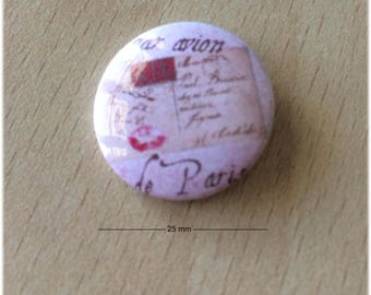 """badge 25 mm """"Paris 03"""""""