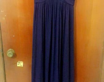 Strapless Dress with Rhinestones