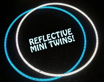 """NEW 'NiteBrite' REFLECTIVE Pair of Minis! Available in 6 Colors // Polypro OR 1/2"""" Advanced & Free Grip Option!"""