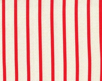 Michael Miller Textured Basics by Patty Young Swell Stripe in Red by the Yard
