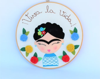 Frida Kahlo, feminist gift, frida, mexican, girl power, home decor, frida kahlo poster, feminism frida, canvas wall art, wood wall art, lgbt