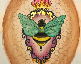 Queen Bee *print