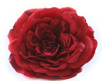 1 Large Deep Red Sophia Rose - Silk Flowers, Artificial Flowers PRE-ORDER