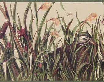 Duck Bird 10030802 Wallpaper Border